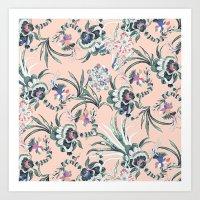 Fantasy Bloom Art Print