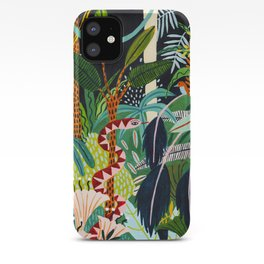 The Jungle at Midnight iPhone Case