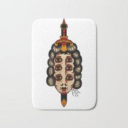 Queen of daggers Bath Mat