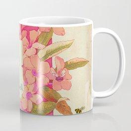 Flowers & Bees II Coffee Mug