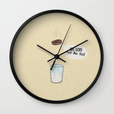 a biscuit's journey Wall Clock