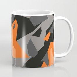 Black\Grey\Orange Geometric camo Coffee Mug