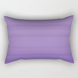 Ultra Violet Gradient Stripes Trendy Color of the year 2018 Rectangular Pillow