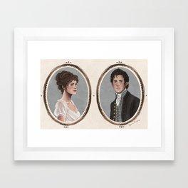 Pride and Prejudice Framed Art Print