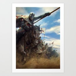 Crusades Art Print