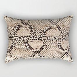 Snake skin art print Rectangular Pillow