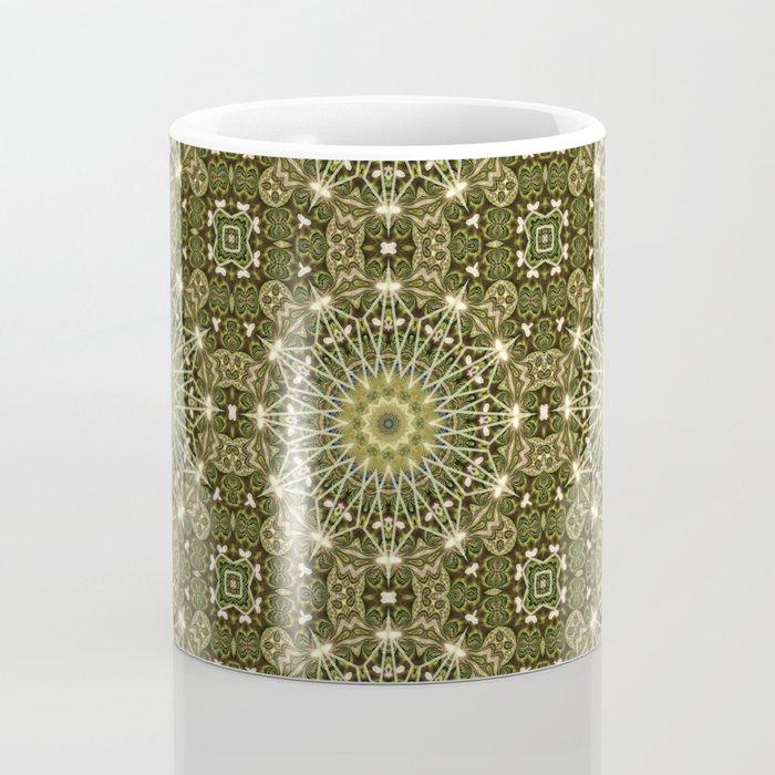 Geometric Forest Mandala Coffee Mug