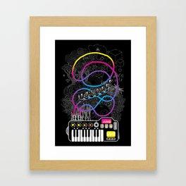 Music Coaster Framed Art Print