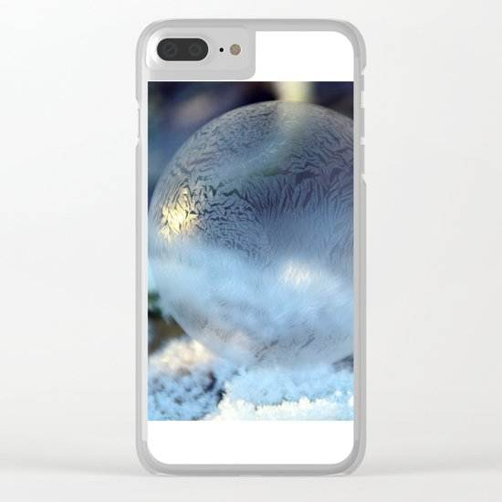 Christmas Bulb Aglow Clear iPhone Case