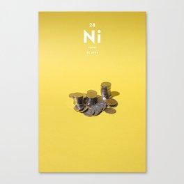 Nickel Canvas Print