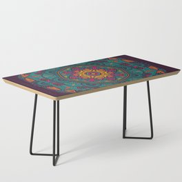 Colorful Mandala Pattern 005 Coffee Table