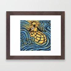 Orixás - Oxum Framed Art Print
