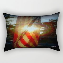 'Day is done' Rectangular Pillow