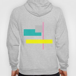 Neon and Shapes Hoody