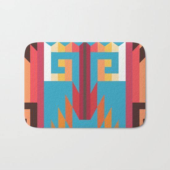American Native Pattern No. 49 Bath Mat