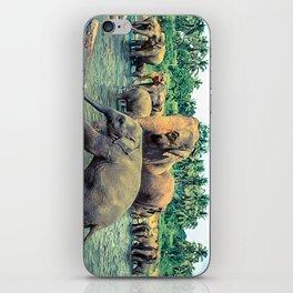 Pinnawala - Sri lanka iPhone Skin