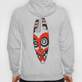 Tribal mask present bright Hoody