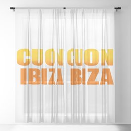 CUON IBIZA Sheer Curtain