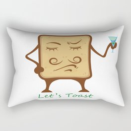 Toast Rectangular Pillow