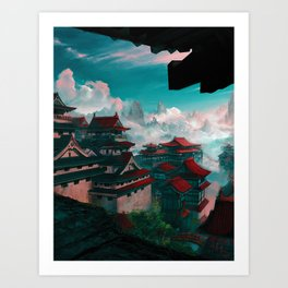 A Part of the Sky Art Print