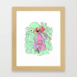 baddest b_tch Framed Art Print
