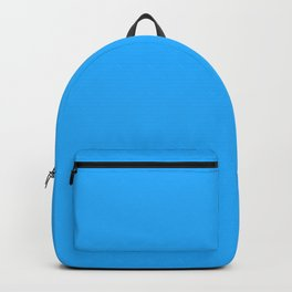 Bright Blue Color Backpack