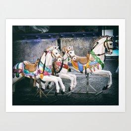 Carousel Three Art Print