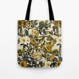 Warm Winter Garden Tote Bag