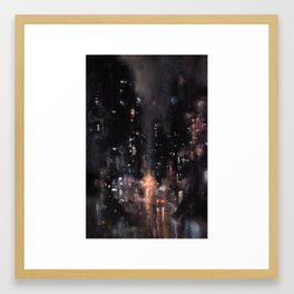 Saint Mark's and Avenue Something Framed Art Print