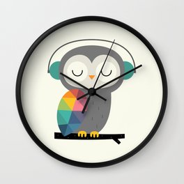 Owl Time Wall Clock