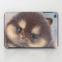 pomeranian iPad Cases featuring Pomeranian by irshi