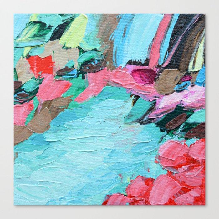 Tahitian Falls Canvas Print
