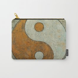 Gold Yin Yang Carry-All Pouch