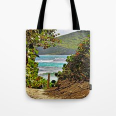 The Path to Paradise Tote Bag