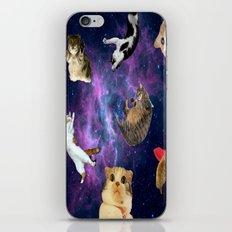 Cats in Space iPhone & iPod Skin