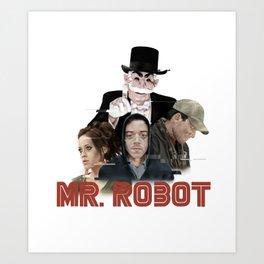 fsociety - Mr. robot Art Print
