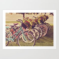 Beach Cruisers Art Print