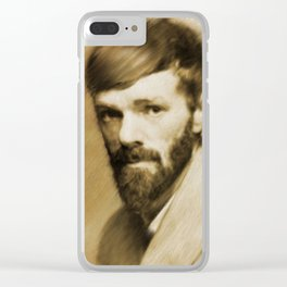 D. H. Lawrence Clear iPhone Case