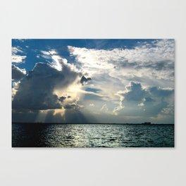 Coconut Grove Sailing Day Canvas Print