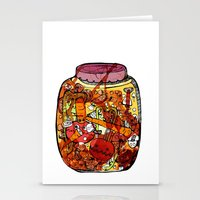 vegetables Stationery Cards featuring Preserved vegetables by ChiLi_biRó