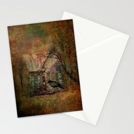 Courting Crow Stationery Cards