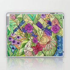 Stained Glass Garden Too Laptop & iPad Skin