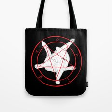 EVERY TIME A CAT CLEANS ITSELF... (art only) Tote Bag