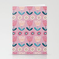 tulips Stationery Cards featuring Tulips by Valendji