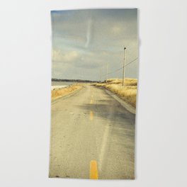 The Road to the Sea Beach Towel