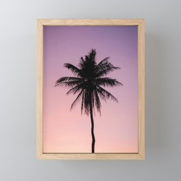 Summer Palms Framed Mini Art Print