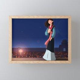 Hero of China Framed Mini Art Print