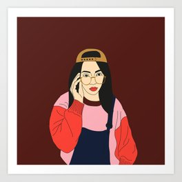 90's Art Print