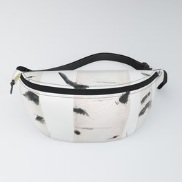 birch  watercolor Fanny Pack