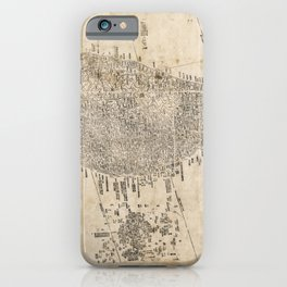 Map of Taiwan (1878) iPhone Case